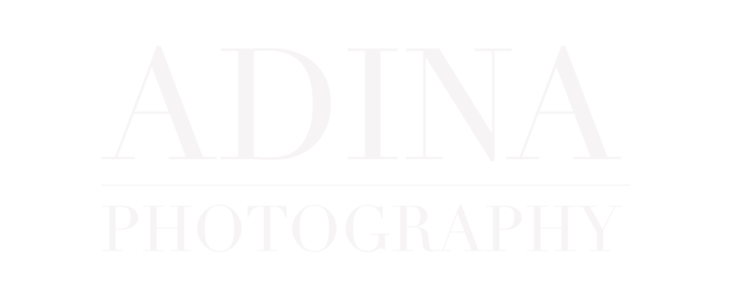 Adina Photography Logo - Simple WHITE