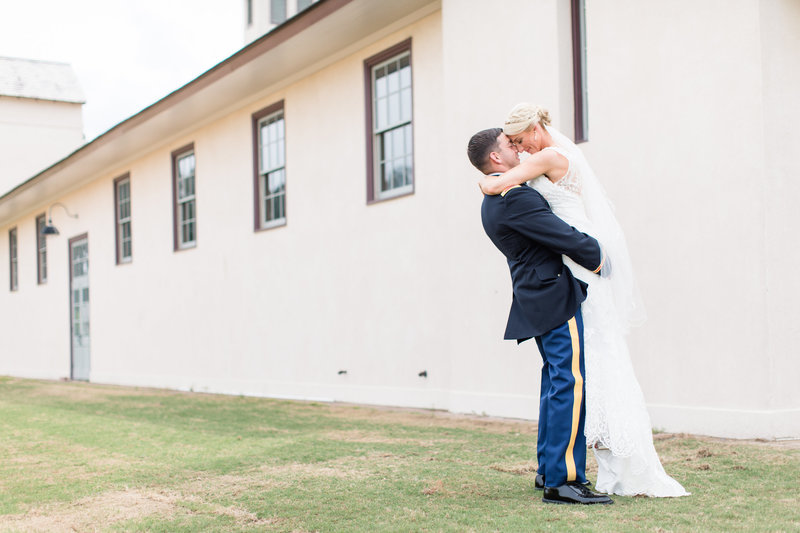 Elegant Military Wedding at the Fair Barn in Pinehurst NC
