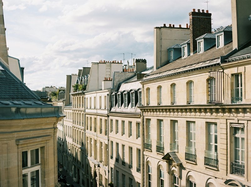 paris roof tops