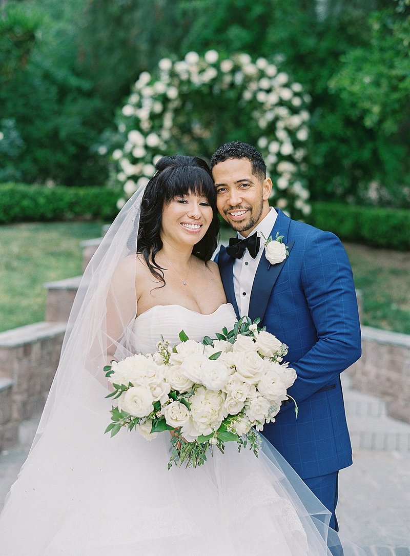 Posh Peony Newhall Mansion Piru Lush White Floral and Greenery Wedding_0002