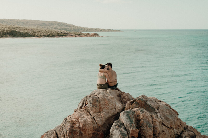 Engagement photography @ Castle Rock, Western Australia