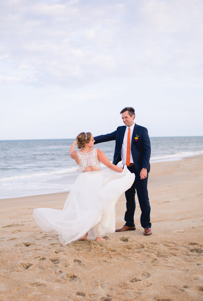 Wedding in the OBX Luke and Ashley Photography