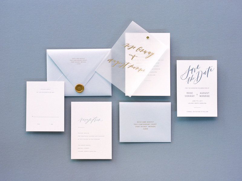 Modern Affair Semi-Custom Invitation Suite Collection