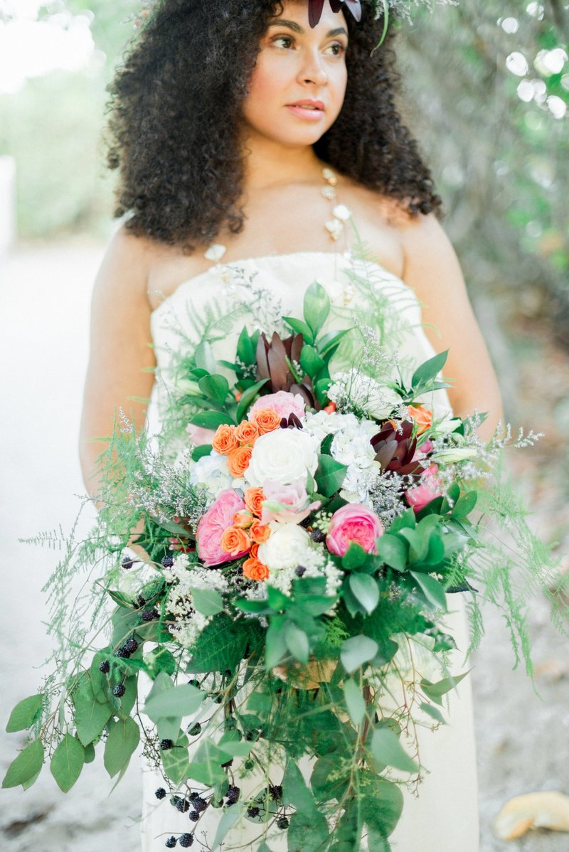 Vero Beach Wedding Photographer _ Vero Beach Wedding _ Beach Wedding _ floral crown _ beach bride _ tiffany danielle photography (14)
