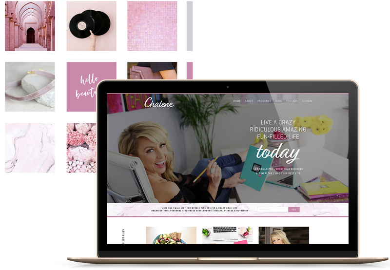 Heartfelt Web Designs & Branding for Female Creatives by Viva la Violet | Showit Designer | Showit Templates | Showit | Chalene johnson