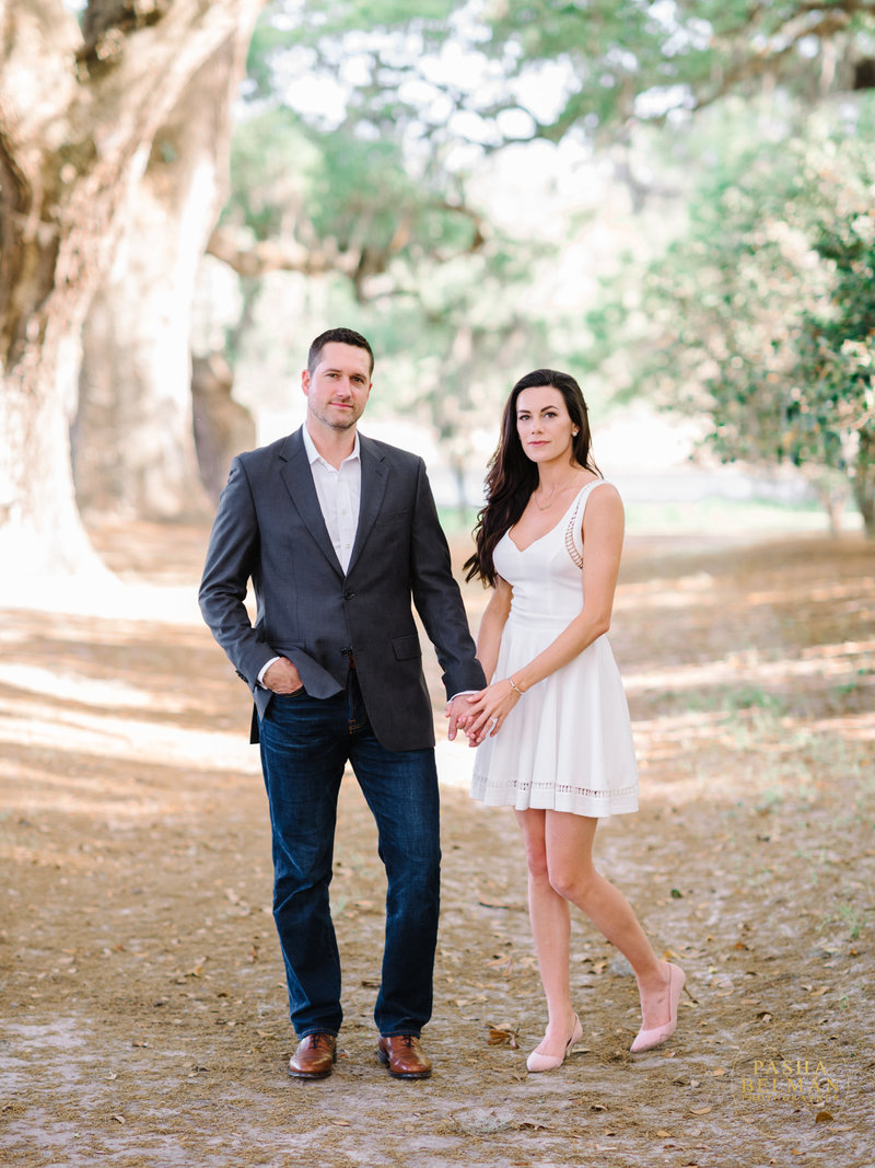 Charleston SC Engagement Portrait Session