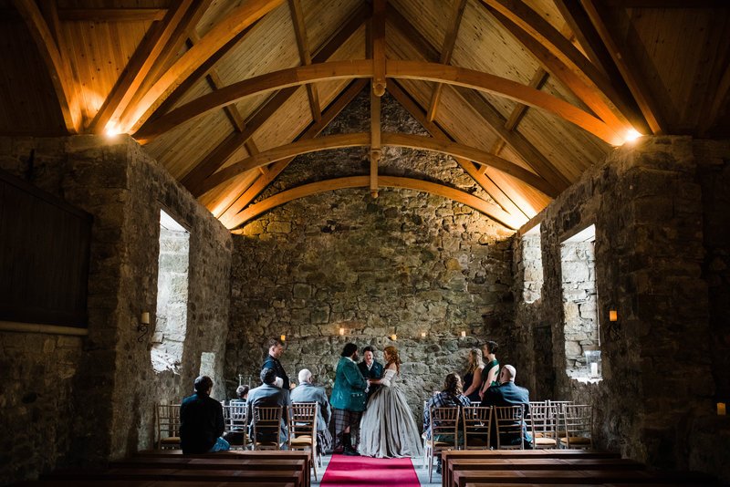 Wolf + Charlena-Outlander-Inspired-Wedding-Old-Glencorse-Kirk-Scotland_Gabby Chapin Photography_Print_0191