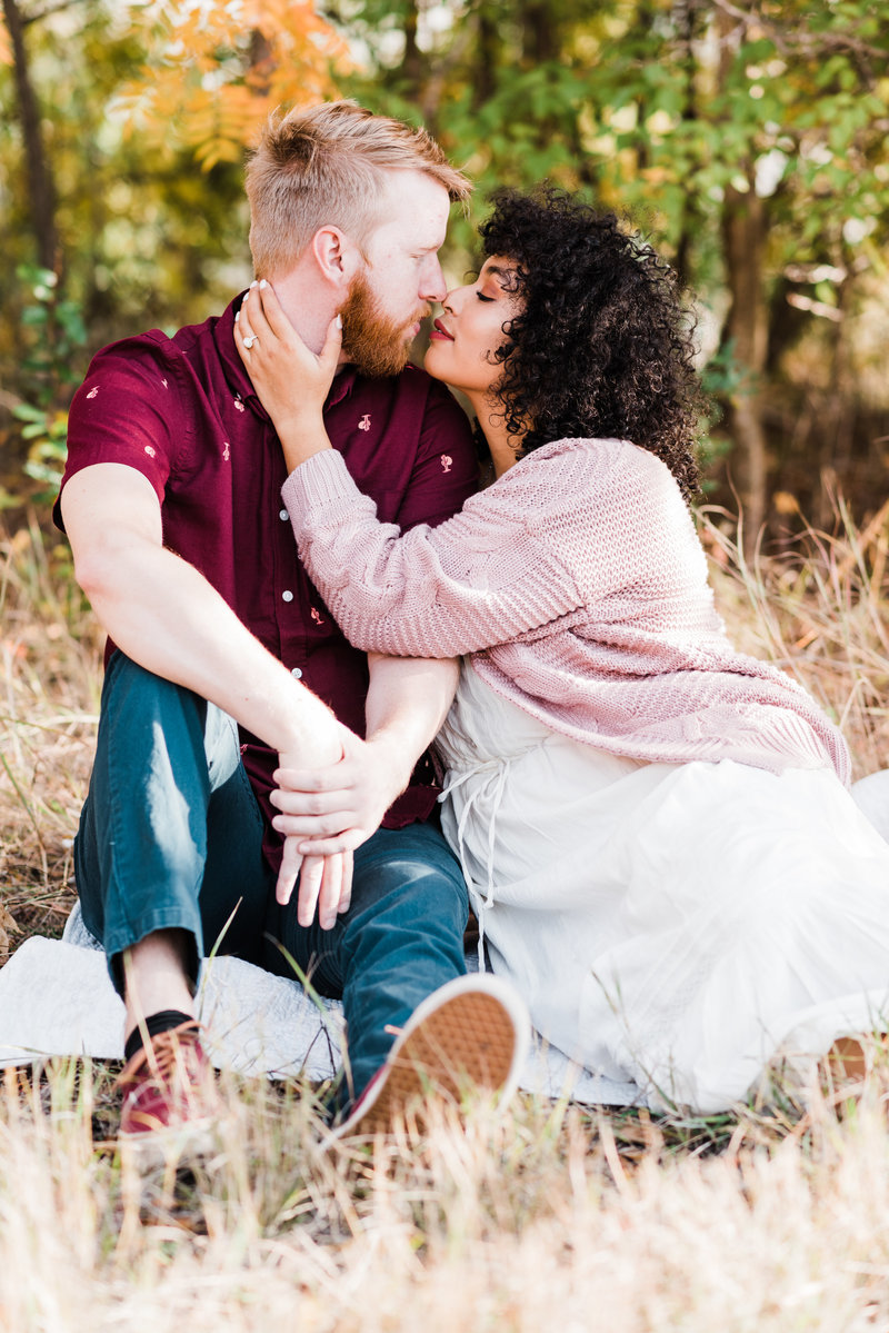 Central Texas Outside Engagement Session by Carhart Photography 32