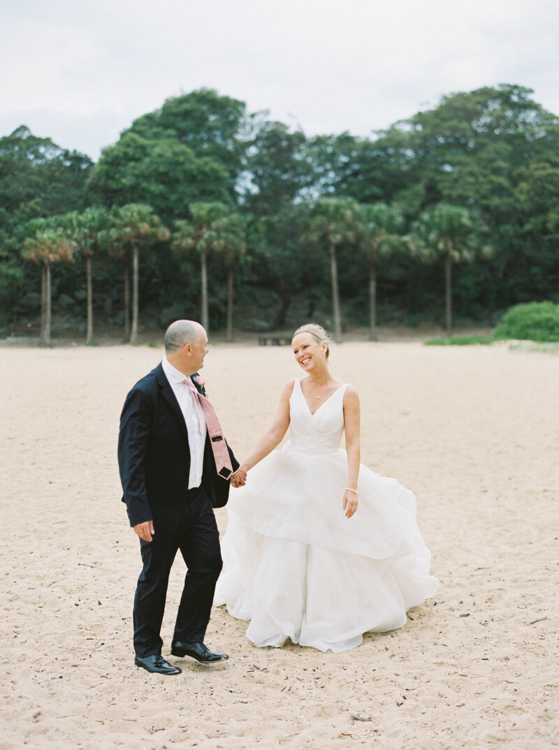 The Boathouse Shelly Beach, Manly Fine Art Film Elopement Wedding Photographer Sheri McMahon --00069
