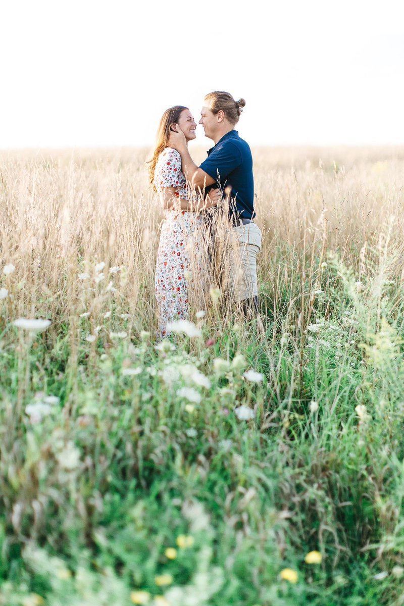 Pennsylvania Countryside Engagement Session by Emi Rose Studio (152)