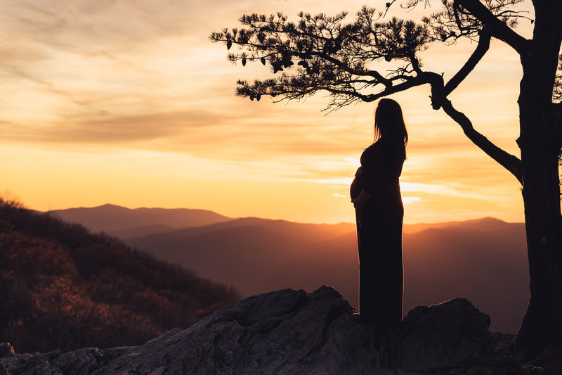 Virginia-Portrait-Sunset-Maternity-Art