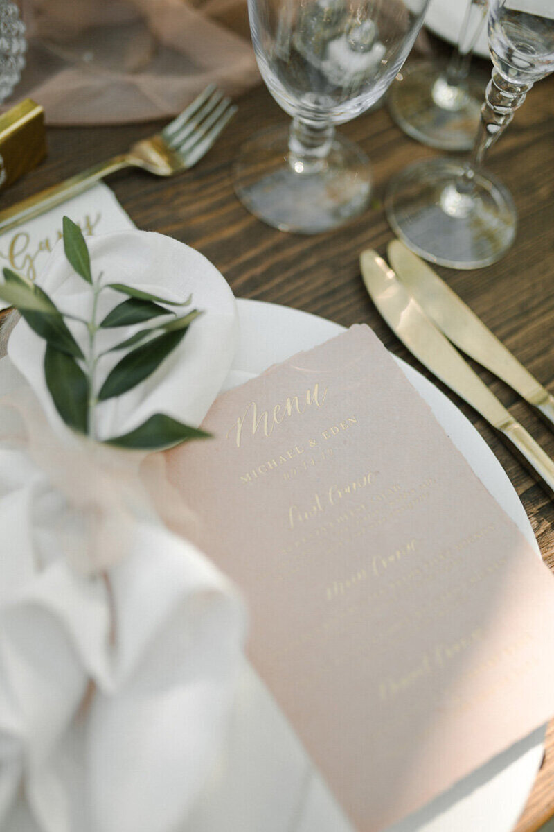 pirouettepaper.com | Wedding Stationery, Signage and Invitations | Pirouette Paper Company | Menus + Programs 31
