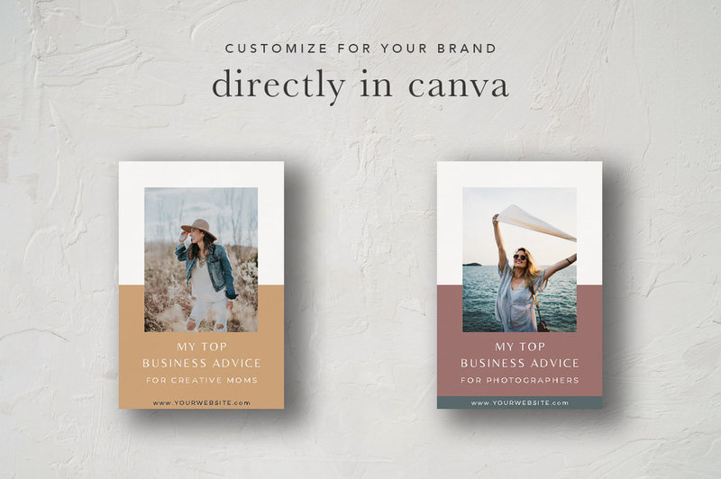 Pinterest Graphic Display Template4