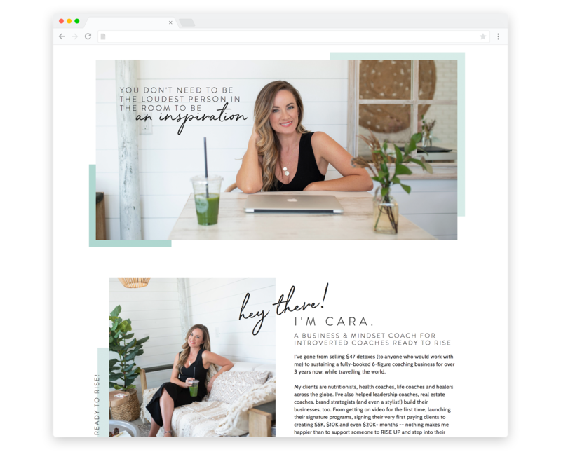 TemplateShowcase-Cara Rice