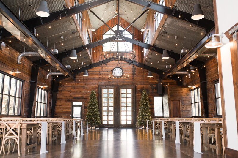 Inside of Knot and Pine Wedding Venue