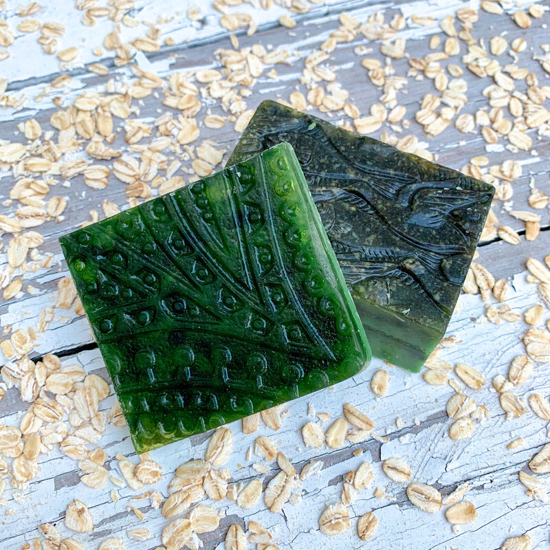 Magzalea Farm and Sanctuary Green Soap