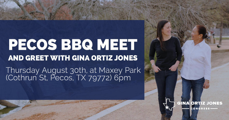 Pecos BBQ meet and greet ad