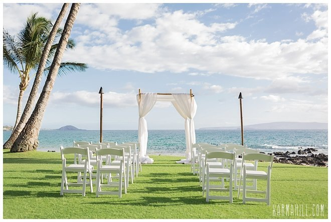 Maui Wedding Venue Five Palms