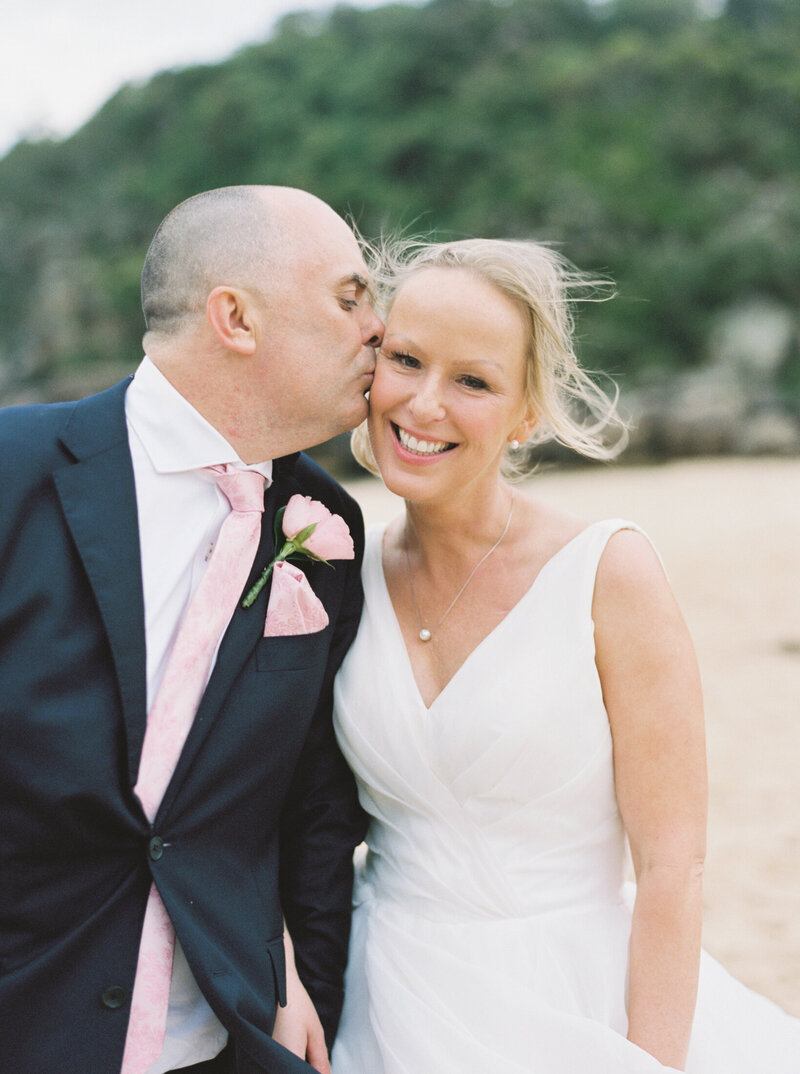 The Boathouse Shelly Beach, Manly Fine Art Film Elopement Wedding Photographer Sheri McMahon --00079