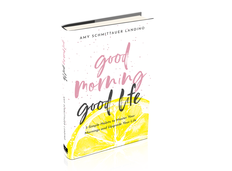 Good Morning Good Life Amy Landino book
