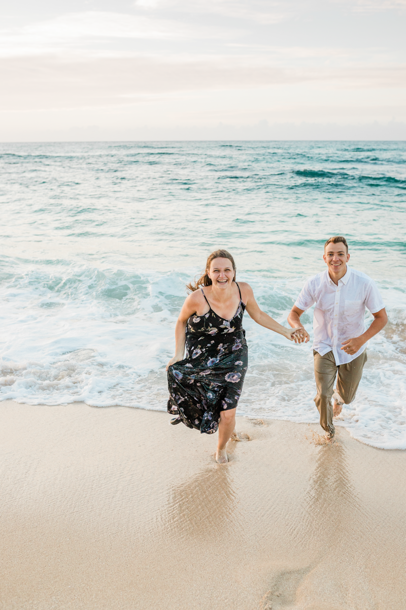 haleiwa engagement photography