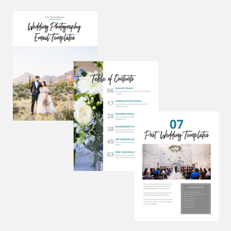 Wedding Photography Email Templates - Pages 2