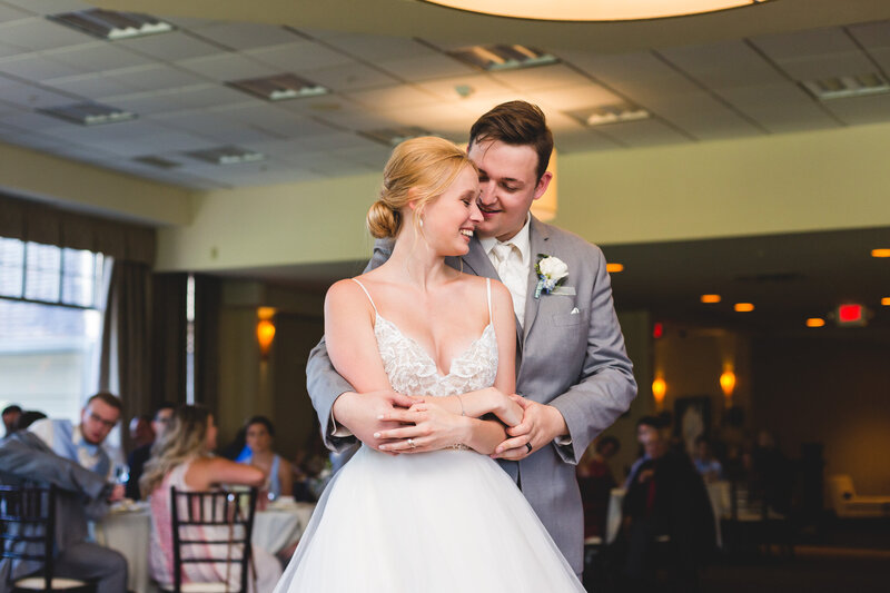bride and groom first dance columbus ohio