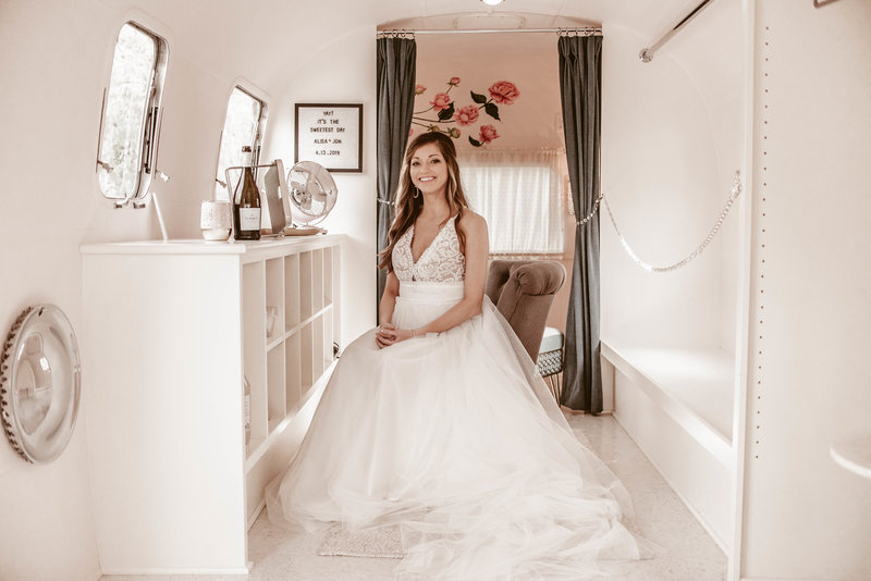 A&J airstream bride Parlour