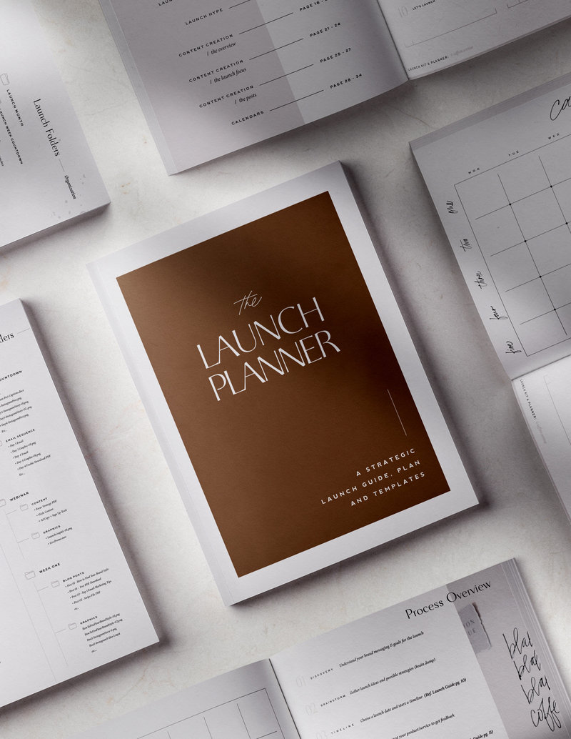 Detailed Launch Plan and launch checklist for your next brand launch, website launch, or course launch