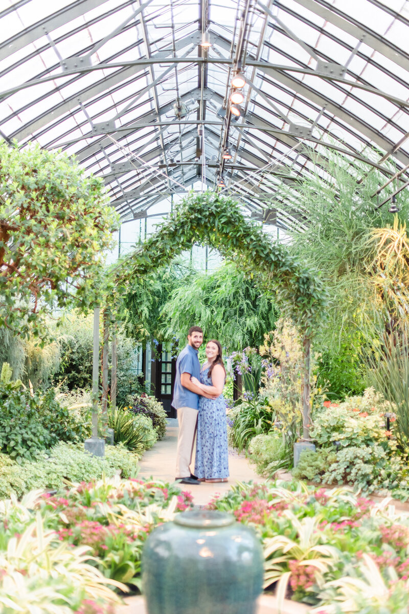 Longwood Gardens Engagement Session-199