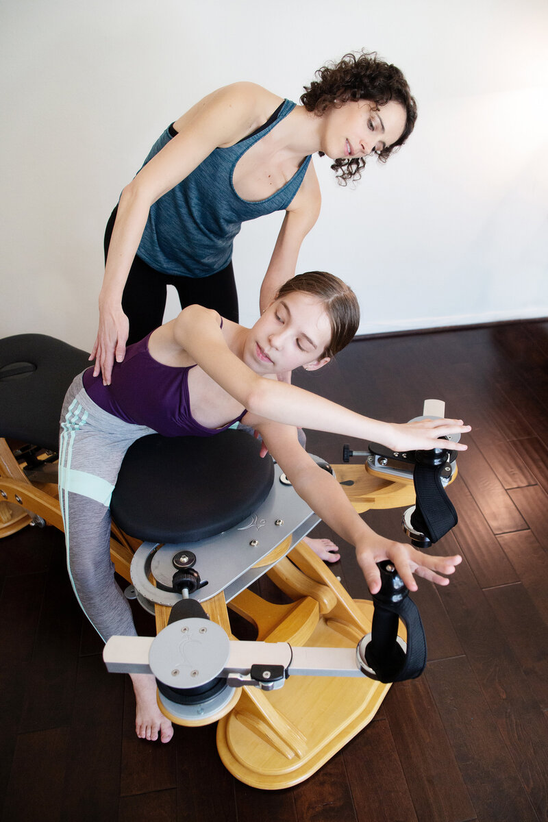 Gyrotonic instruction houston
