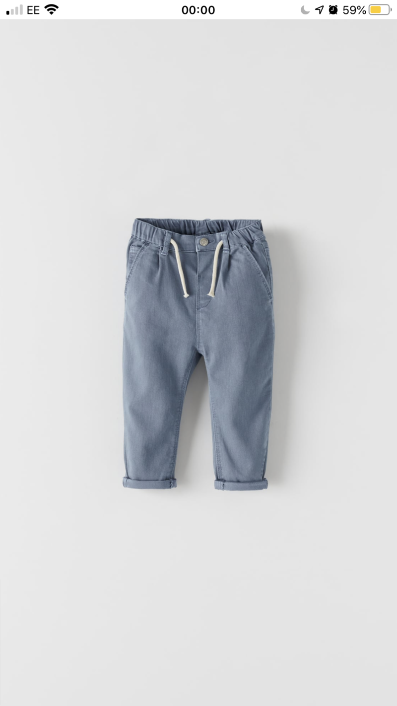 LoriLoves_ClientWardrobe - Light Blue Trousers 2-3Y
