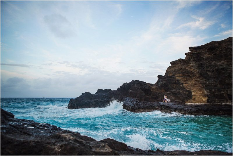 oahu engagement session hawaii wedding photographer