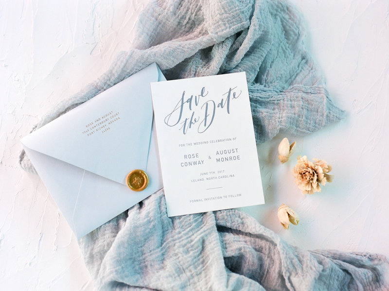 Semi-Custom Invitations - Modern Affair Collection Save the Date 2