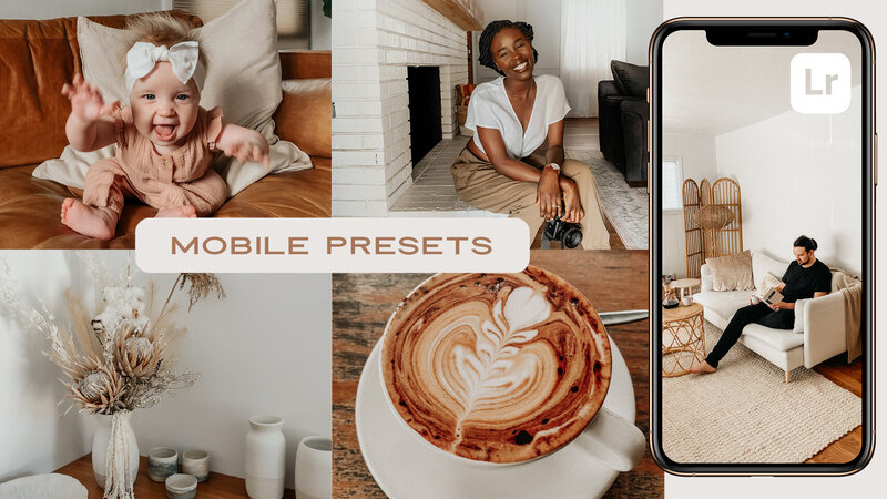 Homebody Lightroom Mobile Presets Athena Camron Homebody Warm Natural Minimal Clean Bright how to install
