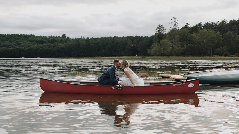 Rustic love in the Mountains of Maine