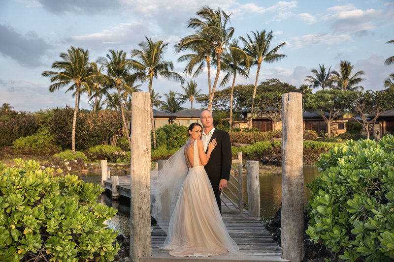 best wedding venue located on kona Four seasons