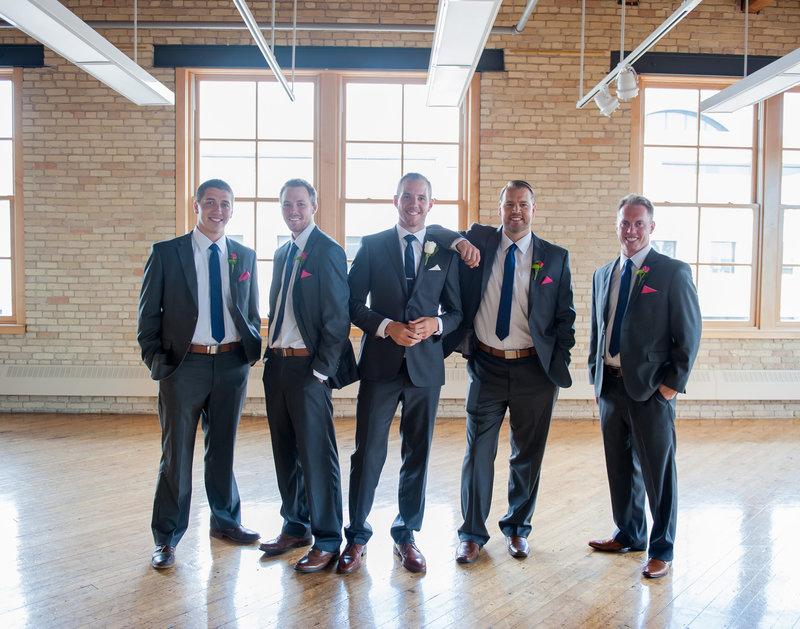 Fargo Plains Art Museum Wedding Photo space and reception Venue Kris Kandel Photographer (3)