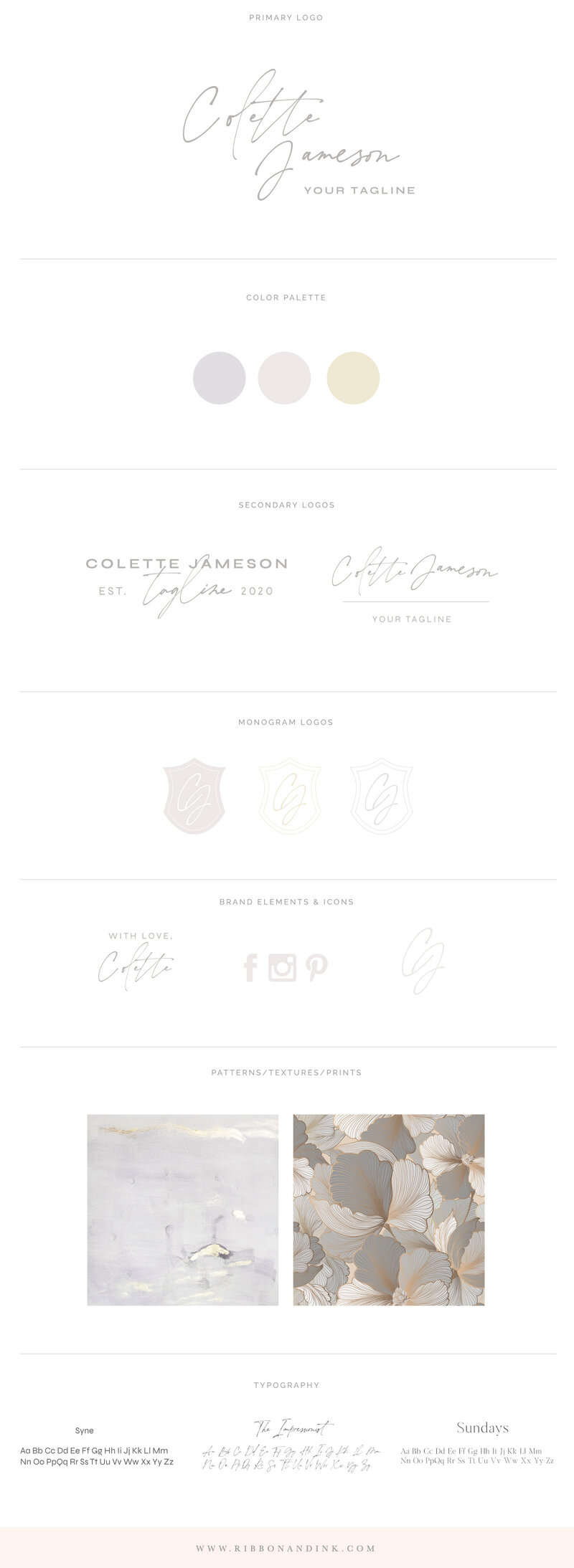 branding-for-small-creative-businesses-branding-board-identity-fine-art-wedding-business-photographer-calligraphy-neutral-branding-for-women-Colette_BrandBoard_v01