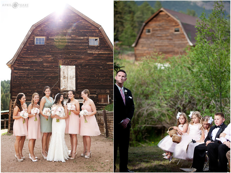 Rustic Barn Wedding in the Mountains of Colorado