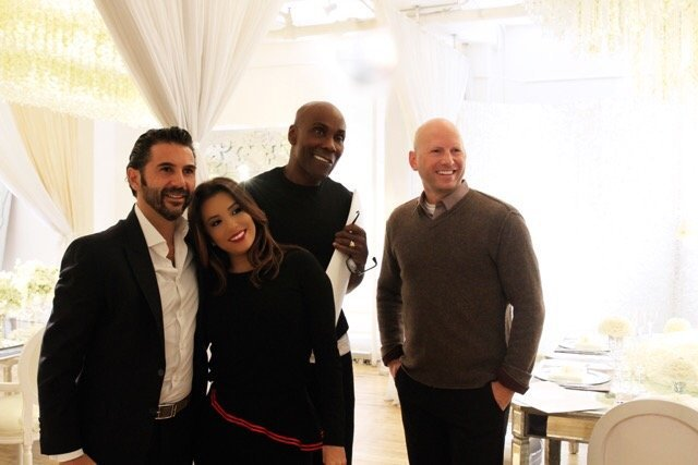 Eva Longoria Wedding - NYC Visit - Preston Bailey