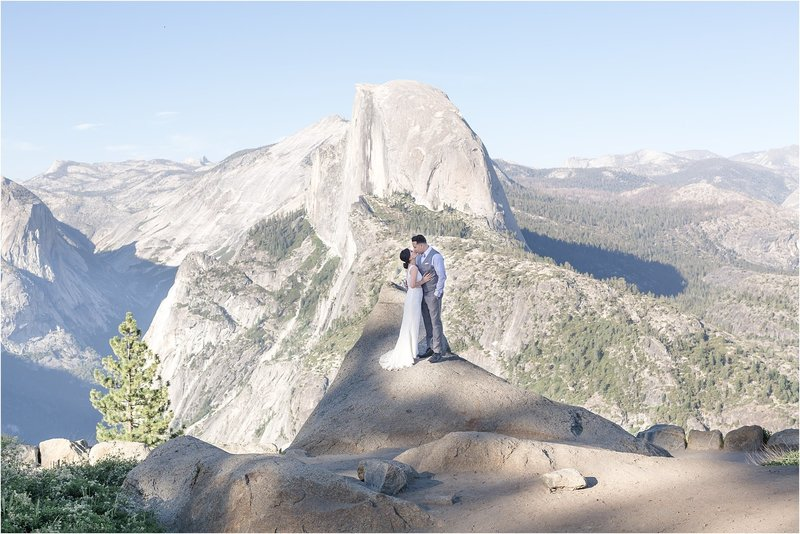 wedding photographer in orlando at yosemite