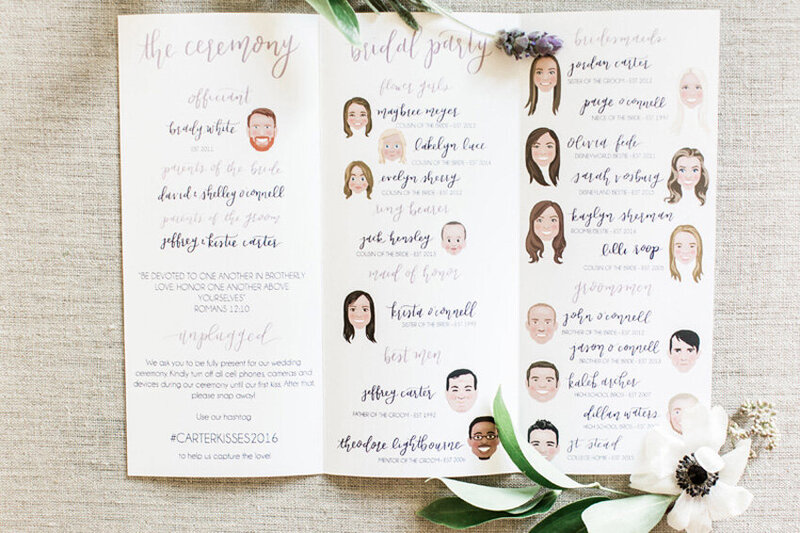pirouettepaper.com | Wedding Stationery, Signage and Invitations | Pirouette Paper Company | Menus + Programs 50