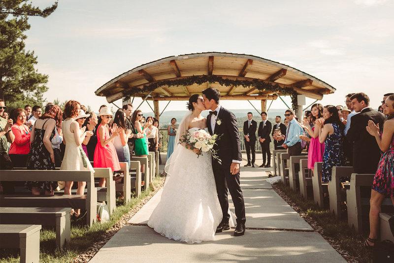 Le Belvédère   Ottawa Cliffside Wedding Venue