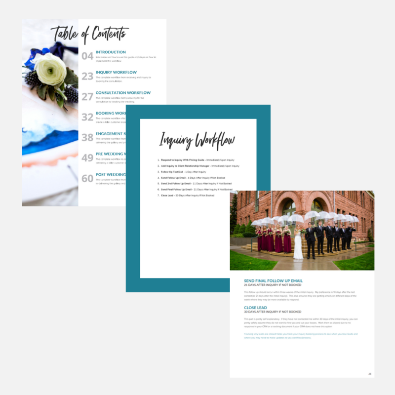 Comple Wedding Workflow Guide - Pages 1