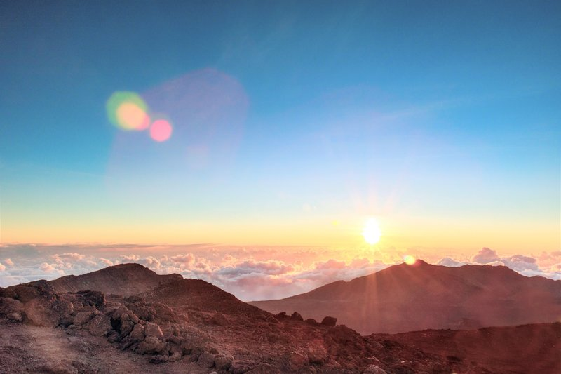 Sunrise at Mt. Haleakala National Park