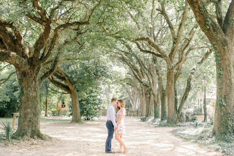 Naturally Beautiful Garden Engagement at LSU Rural Life Museum-10