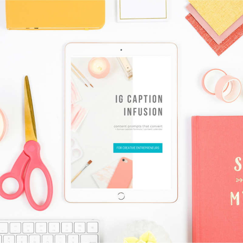 Instagram Caption Ideas for Creatives - Cassie Schmidt