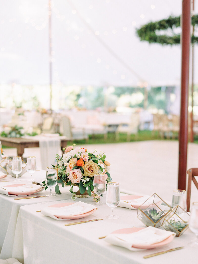Tented Annapolis Wedding Reception