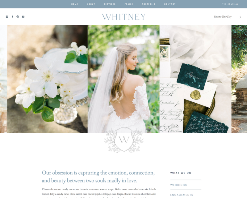 Whitney Showit template